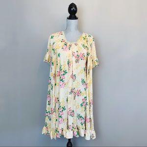 Mid century vintage sleep gown and robe